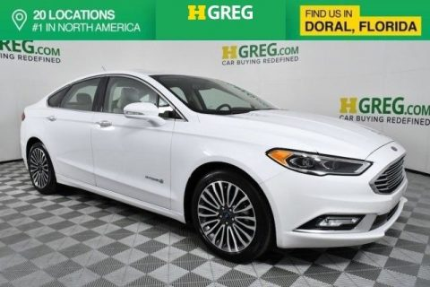 AMAZING 2018 Ford Fusion Titanium for sale