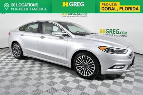 GREAT 2017 Ford Fusion Titanium for sale